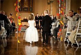Sepia Chapel Elegant Ceremonies Vintage Character Green Bay WI Website Lambeau Field Wedding
